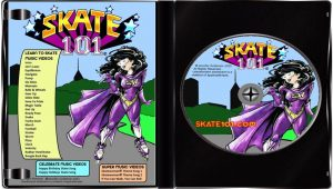 Skate_101_Dvd_Learn_How_to_Skate_Lessons_Classes_Instructions_Videos_Ice_Quad_Inline_Skates_Inside_CD_Label